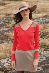 Captain Tortue Orange Dress
